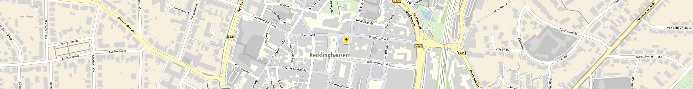 LEOS in Recklinghausen-Stadtmitte Karte