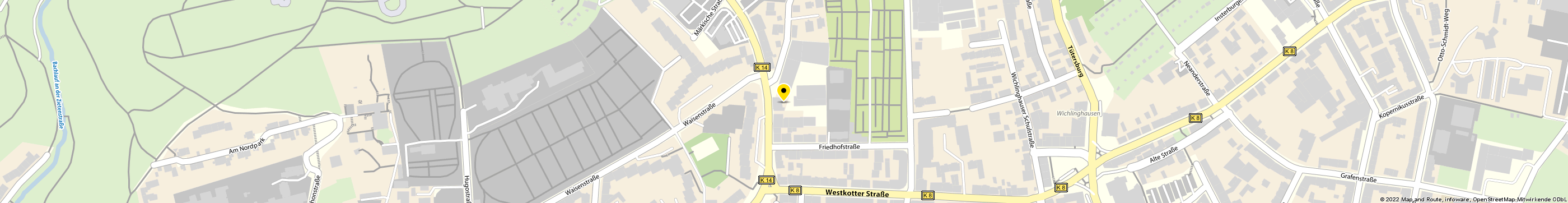 A&A AutoService GmbH & Co. KG in Wuppertal-Barmen Karte