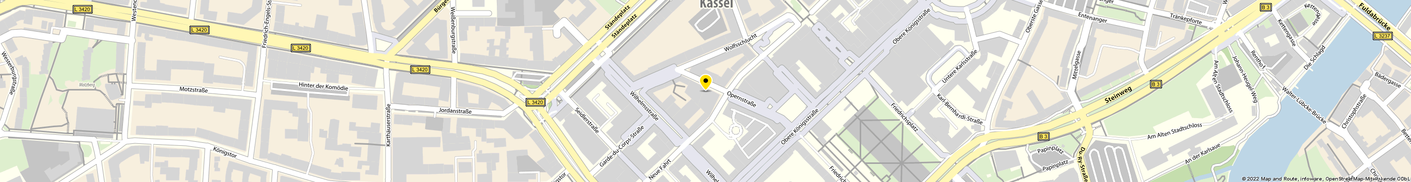 Later Erich in Kassel-Mitte Karte