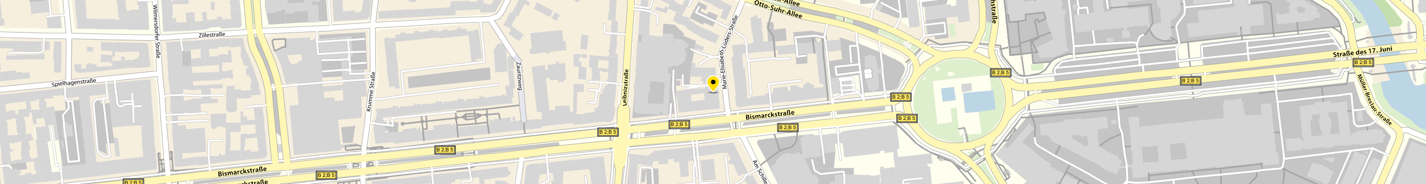 VERBI Software GmbH in Berlin-Charlottenburg Karte