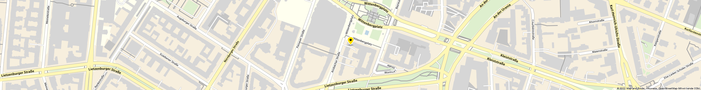 TIBA Software Center GmbH Systemhaus in Berlin-Schöneberg Karte