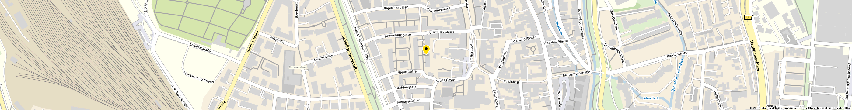 AGA INTERNATIONAL S.A. in Augsburg-Innenstadt Karte